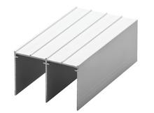 Tor GórnyMEDIUM 56/II w kolorze srebrnym o długości 235 cm.  Linia Medium 56  Główną zaletą Linii MEDIUM jest niewielka szerokość...