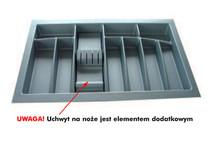 Wkład Na Sztućce Do Szer.120cm Głęb.45cm SREBRNY TWARDY gr.2.5mm - Würth