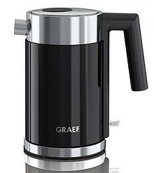 Mały, kompaktowy czajnik o unikalnej konstrukcji firmy Graef, z podwójną ścianką, bezpiecznikiem termicznym oraz wymiennym filtrem wapnia....