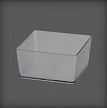 Pudełko do organizatora i półek S60, S90 w systemie Elfa Utility        w kolorze Białym...