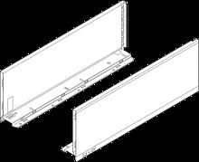 Komplet boków 770C do szuflady LEGRABOX Kolor:Brunatnoczarny Wysokość boku szuflady:C=176,8mm Wymiar zabudowy 193mm...