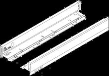Produkty 770N4502S Rodzaj szuflady: Bok szuflady LEGRABOX Wysokość boku szuflady: N (66,3 mm) Materiał: stal Wzornictwo: gładki Dł.: 450 mm Montaż...