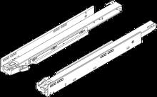 750.5001B Prowadnica korpusu LEGRABOX z BLUMOTION zsynchronizowany system posuwu Pełny wysuw dł.: 500 mm Obciążenie dynamiczne: 40 kg Materiał: stal...