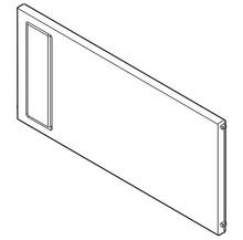 ZC7Q0P0FS AMBIA-LINE Listwa poprzeczna do LEGRABOX szuflady z wysokim frontem tworzywo Symetryczne Długość: 211.1 mm Kolor / Powierzchnia: ciemnoszary mat...