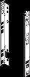ZB7F000S Uchwyt drewnianej ścianki tylnej System szuflad: LEGRABOX wysokość: 210.1 mm Wymiary zabudowy w korpusie: F (253 mm) Materiał: stal Kolor /...