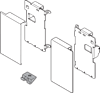 LEGRABOX Mocowania Frontu Wewnętrznego ZV7.1043C Wys.M J.Biały - Blum