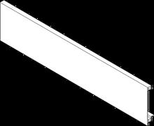 front ZV7.1043C01 BEZ WPUSTU Front System szuflad: LEGRABOX aluminium jedwabiście biały mat Długość: 1043.2 mm
