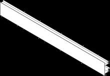 front ZV7.1043MN1 Z WPUSTEM Front System szuflad: LEGRABOX aluminium ciemnoszary mat Długość: 1043.2 mm