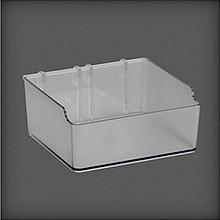 Pudełko do organizatora w systemie Elfa Utility         transparentne Wykonana ze tworzywa...