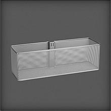 Elfa Kosz w kolorze Platinum do zamocowania na szynie pionowej H lub V na dowolnej wysokości. o wym. szer. 435 mm, gł. 140 mm, wys. 135 mm. ...