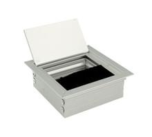 Przepust Kablowy Kwadratowy z Aluminium 80x80 mm Aluminium - Amix