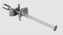 Złącze do blatów M6x100MM CYNK  Długość 100 mm Materiał wykonania: stal ocynkowana