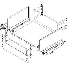 Szuflady LEGRABOX Mocowanie Frontu Do Wysokości Boków C i F 1szt. Blum - Blum