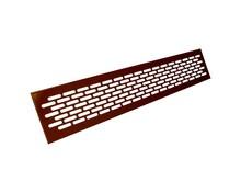 Kratka wentylacyjna aluminiowa 80 - Kolor lakier brąz WE12.0004.07.068  Wymiary kratki: Długość - 1,65cm Wysokość - 8,2cm...