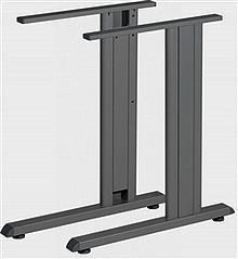Stelaż biurka składający się z nóg ST 201 S i kanału kablowego ST 201 K/18  Dedykowany do blatów o wymiarach:  1400 x 700 mm i 1400 x 800 mm...
