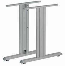 Stelaż biurka składający się z nóg ST 202 S i kanału kablowego ST 201 K/08  Dedykowany do blatów o wymiarach:  800x700 mm 800x800 mm  ...
