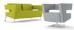 Sofa 2-osobowa LOOP