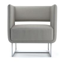 Zola Ten ekstrawagancki fotel doskonale sprawdza się w przestrzeni publicznej. Jego awangardową formę jeszcze bardziej podkreśla podstawa z efektownej i...