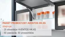 Produkt objęty promocją     Za zakup 25kpl podnośników Aventos HK-XS   otrzymasz  wiatroszczelny softshell The North Face za 1zł....