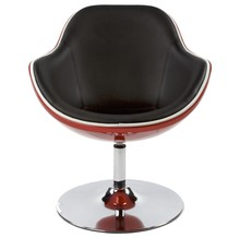 Fotel DAYTONA czarno-czerwony