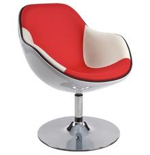 Fotel DAYTONA czerwono-biały