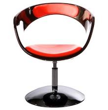 Fotel KIRK czarno-czerwony
