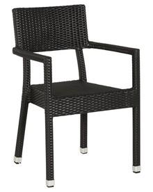 Krzesło BRAID czarne