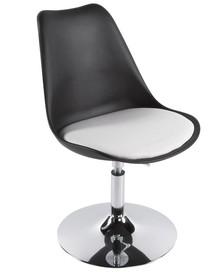 Ponadczasowy produkt w kształcie tulipana. Fotel VICTORIA jest komfortowy oraz solidny. Siedzisko tapicerowane wysokiej jakości sztuczną skórą,...