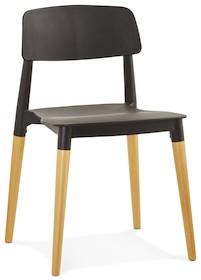 Krzesło GORGEOUS czarne
