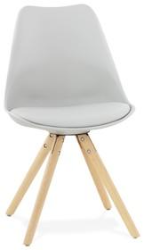 Tradycyjny wygląd krzesła TOLIK został nieco zmodyfikowany, aby dodać mu nieco więcej skandynawskiego charakteru. Posiada 4 bukowe nogi, które są...