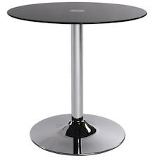 Dyskretny oraz praktyczny. Okrągły stół VINYL posiada blat z hartowanego szkła umieszczonego na stopie ze stali chromowanej w kształcie tulipana. ...