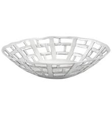Nowoczesny koszyk lub półmisek na owoce, z polerowanego aluminium, doda współczesnego akcentu do każdego salonu. Tradycyjne rękodzieło czyni każdy...