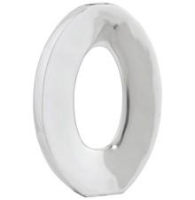 Wazon RING z polerowanego aluminium jest nowoczesnym elementem dekoracyjnym ze spokojnym wzorem. Pochodzi z produkcji ręcznej, więc pewne nieregularne...