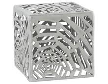 Niski stolik lub siedzisko – ten wszechstronny, dekoracyjny egzemplarz z polerowanego aluminium jest zdecydowanie nowoczesny i trwały. TRIBAL jest...