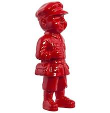 Figurka GINO z żywicy poliestrowej, barwionej na lakierowany czerwony, wniesie nowoczesny akcent do Twojego wnętrza. Pomysł na prezent dopasowany do...