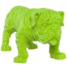 Figurka BULLDOG zielona