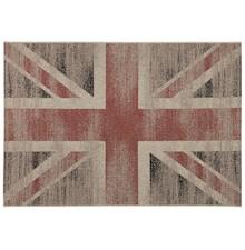 Uznanie dla stylowej brytyjskiej kultury. Miękkie oraz krótkie propylenowe włókna podstawy dywanika, sprawiają, że jest on niezwykle wytrzymały....