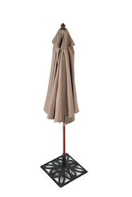 VARGO jest prostym, eleganckim parasolem wysokiej jakości. W dodatku ochroni Cię przed słońcem. Jego drewniana konstrukcja oraz wodoodporna tkanina...
