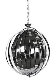 Lampa wisząca z nadzwyczajnym wyglądem. Dzięki regulowanym paskom oraz chromowanej konstrukcji, rzucane promienie świetlne są jasne. Awangardowy projekt...