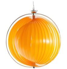 Lampa wisząca z ponadprzeciętnym wyglądem. Elastyczne i regulowane polipropylenowe paski są przymocowane do struktury ze stali chromowanej. Lampa oddaje...