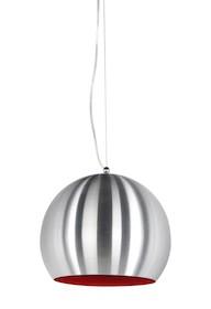 Lampa wisząca JELLY jest zawieszona na cienkim stalowym kablu oraz przezroczystym elektryczny przewodzie, których długość można regulować. Kula z...