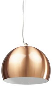 Lampa sufitowa KUPOL jest wsparta na cienkim, stalowym kablu oraz przezroczystym elektrycznym przewodzie, których długość jest łatwo regulowana....