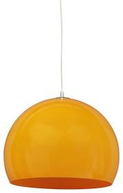 Ta lampa wisząca w stylu vintage szczyci się tradycyjnym modelem z lat 70-tych, zalewając modne wnętrza ciepłym światłem. Plastikowa kula jest...