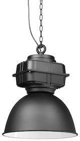 Lampa wisząca TEOL jest wiernym ukłonem w kierunku czarującego, kultowego oświetlenia z początku XX wieku, stosowanego w magazynach przemysłowych....