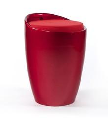Pufa ESE jest elegancka i praktyczna. Pod siedziskiem z tapicerowanej, delikatnej i wytrzymałej tkaniny, możemy znaleźć duży pojemnik na drobiazgi. Jasny...