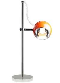 Uniwersalna lampka nocna lub biurowa wprowadzi piękno do Twojego wnętrza. Jej ruchome klosze mogą być regulowane wzdłuż konstrukcji ze stali...