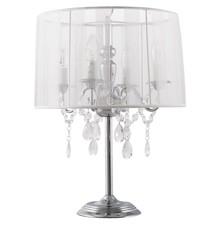 Lampa stołowa lub nocna COSTES emituje eleganckie oraz przefiltrowane światło. Doskonała kombinacja cienkiej tkaniny oraz wisiorków nadaje jej wyglądu...