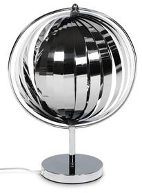 Lampa biurowa lub lampka nocna z ponadprzeciętnym wyglądem. Dzięki ruchomym paskom ze stali chromowanej, przymocowanym do konstrukcji, lampa emituje żywe...