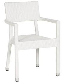 Krzesło BRAID białe