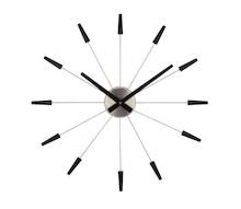 """""""Plug inn"""" to niebywale nowoczesny zegar ścienny, obok którego trudno przejść obojętnie. Cechuje się bardzo minimalistyczną stylistyką. Jest..."""